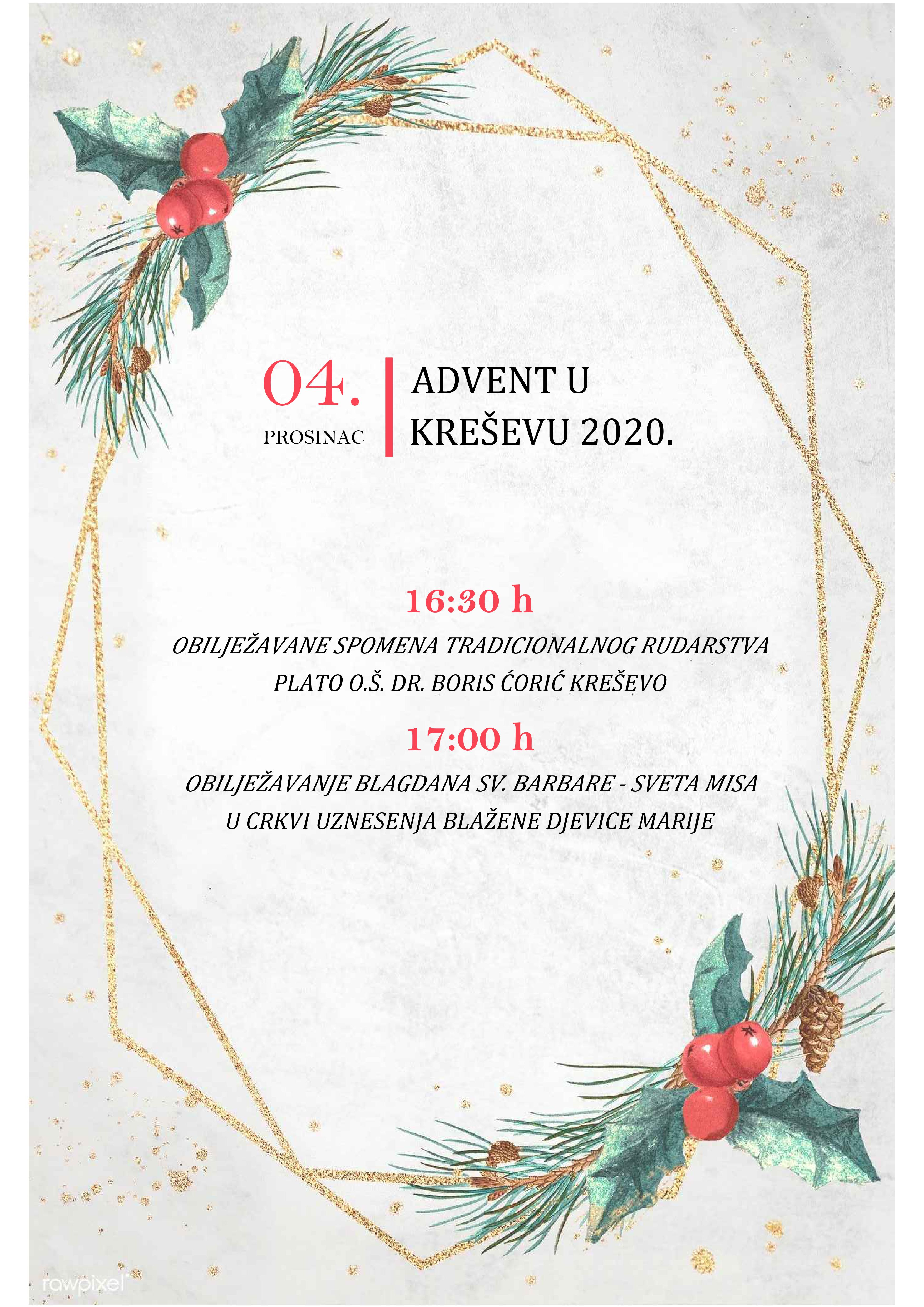 Plakat advent